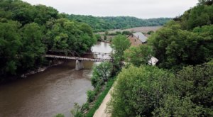 Hike Rugged Trails And Explore A Old Mill At Iowa's Motor Mill Historic Site