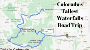 Spend The Day Exploring Colorado's Tallest Falls On This Wonderful Waterfall Road Trip