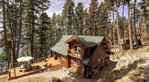 This Magnificent Montana Cabin Offers Sweeping Views Of Flathead Lake