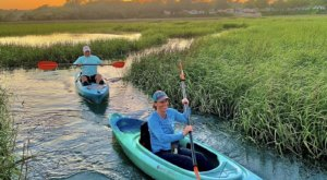 Kayak Through A Mesmerizing Marsh Mazes At North Myrtle Beach In South Carolina