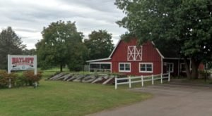 Dig Into Enormous Portions At The Hayloft, An Old-Fashioned Ice Cream Parlor In Michigan