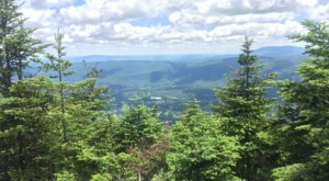 Wonder At The Marvelous View From The Equinox Mountain and Lookout Rock Trail In Vermont