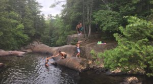 The Natural Swimming Hole At Smalls Falls In Maine Will Take You Back To The Good Ole Days
