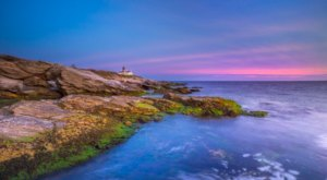 A Historic Lighthouse And Secluded Beaches Are Hiding On The Trails Of Beavertail State Park In Rhode Island
