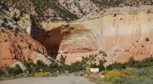 The Echo Amphitheater Is One Of New Mexico's Best Natural Hidden Gems That's Worth A Visit