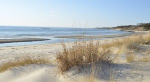 Follow A Sandy Path To The Waterfront When You Visit Kiptopeke State Park In Virginia