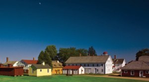 Visit The Remains Of A 228-Year-Old Historic Village At The Canterbury Shaker Site In New Hampshire