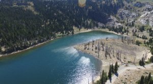 Drive To The High-Altitude Lake Cleveland And Escape For The Day To The Idaho Mountains