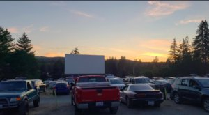 The Skyline, An Old-Fashioned Drive-In Theater In Washington, Is Open For The Season