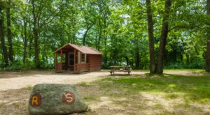 Visit Burlingame State Park, The Massive Family Campground In Rhode Island That's The Size Of A Small Town