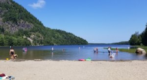 7 Lake Beaches In Maine That'll Make You Feel Like You're At The Ocean