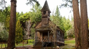 Explore An Old Oregon Ghost Town At Golden State Heritage Site