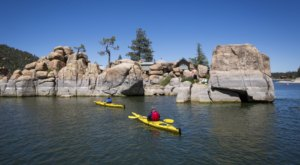 Rent A Kayak For The Day And Float On The Most Beautiful Mountain Lake In Southern California