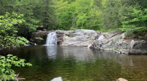 This Easy, Half-Mile Trail Leads To Buttermilk Falls, One Of Vermont's Most Underrated Waterfalls