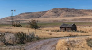 This Scenic Drive Through Curlew National Grasslands In Idaho Is Filled With Historic Homesteads