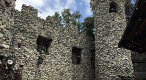 A Massive Castle Built Entirely By Hand, Rubel Castle, Is Tucked Inside This One Small Town In Southern California