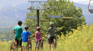 This Brand New Bike Trail Park In New Hampshire Offers A Fun Summer Outing For The Whole Family