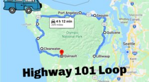 Stretching 300 Miles, The Highway 101 Loop Offers One Of The Sweetest And Most Scenic Drives In Washington