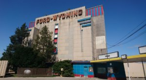 For A Retro Blast From The Past, Check Out The Quirky And Colorful Ford Drive-In Near Detroit