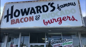 Sink Your Teeth Into Juicy Goodness At The Iconic Burger Stand In Southern California, Howard's Famous Bacon And Avocado Burger