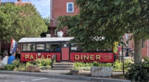 The Massive Pancakes At Palace Diner In Maine Are Worth Waking Up Early For