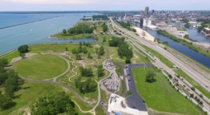 The Outer Harbor Lakeside Bike Park In Buffalo Truly Has It All
