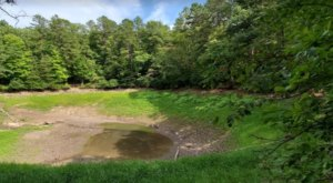 The Only Natural Lake In West Virginia, Trout Pond Is Slowly Sinking Out Of Sight