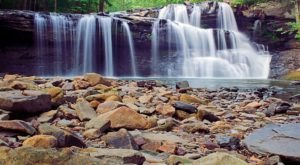 This Easy, Quarter-Mile Trail Leads To Brush Creek Falls, One Of West Virginia's Most Underrated Waterfalls