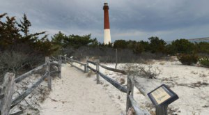 Follow A Sandy Path To The Waterfront When You Visit Barnegat Lighthouse State Park In New Jersey
