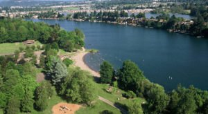 Hike, Picnic And Play In The Water At Blue Lake Regional Park In Oregon