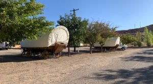 There's A Covered Wagon Campground In Arizona And It's A Unique Overnight Adventure