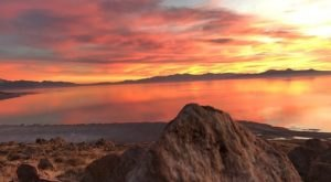 Some Of The Best Sunsets In The State Are Found On Utah's Antelope Island