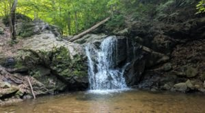 This Easy, Quarter-Mile Trail Leads To Cascade Falls, One Of Maryland's Most Underrated Waterfalls