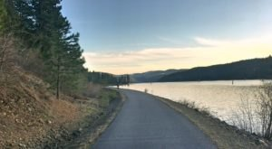 The Longest Bike Trail In Idaho, The Trail Of The Coeur d'Alenes Takes You On A Beautiful Journey