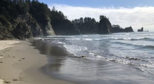 Follow A Forested Path To The Waterfront When You Visit Second Beach In Washington