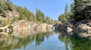 The Natural Swimming Hole At Emerald Pools In Northern California Will Take You Back To The Good Ole Days