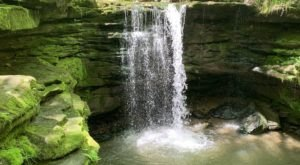 This Moderate, 2-Mile Trail Leads To Dundee Falls, One Of Ohio's Most Underrated Waterfalls