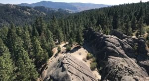 Just A Short Drive From Boise, The Hike To Stack Rock In Idaho Ends With 360-Degree Views Of The Forest