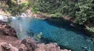 Hiking The McKenzie River Trail To Tamolitch Blue Pool In Oregon Is Like Entering A Fairytale