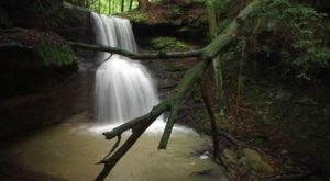A Short But Beautiful Hike, Raven Rocks Loop Trail Leads To A Little-Known Waterfall In Ohio