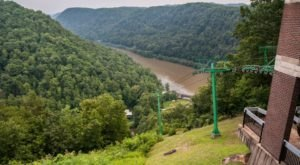 The Scenic Skylift In West Virginia That Takes You To One Of Our State's Natural Wonders