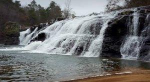 Plan A Visit To High Falls, Alabama's Beautifully Blue Waterfall