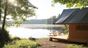 The Secluded Glampground In New Hampshire That Will Take You A Million Miles Away From It All