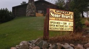 Enjoy An Amazing Meal On The Shores Of Rose Lake At Spanky's Stone Hearth In Frazee, Minnesota