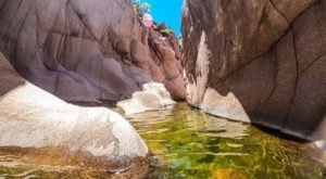 Salome Jug Canyon In Arizona Is Filled With Pristine Swimming Holes