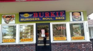 K & C Burkie Is An Unassuming Eatery In Washington With Scrumptious Sushi And Burgers