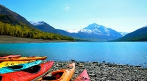 Kayaking This Glacial Lake In Alaska Is What Dreams Are Made Of