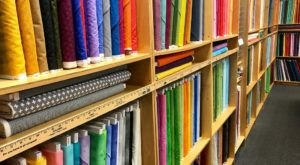 Browse Over 4,000 Bolts Of Fabric At HomeGrown HomeSewn In Ohio, A Quilter's Dream Come True