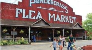 The Biggest And Best Flea Market In Georgia, Pendergrass Flea Market Has Re-Opened
