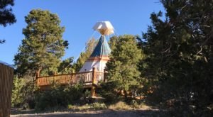 Sleep In A Tipi At At The 161-Acre Boulder Mountain Guest Ranch In Southern Utah